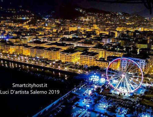 Luci d'Artista Salerno 2019/2020: inaugurazione e novità  XIV edizione